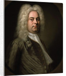 George Frideric Handel, German composer by Balthasar Denner