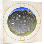 A plan of Rome by Hermann Limbourg