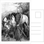 Giuseppe Garibaldi, Italian patriot and soldier of the Risorgimento, 1861. by Anonymous