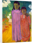 Piti Tiena, (Two Sisters), 1892. by Paul Gauguin
