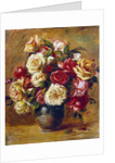 Bouquet of Roses by Pierre-Auguste Renoir