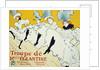 La Troupe De Mlle Églantine by Henri de Toulouse-Lautrec