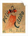 May Belfort, Petit Casino by Henri de Toulouse-Lautrec