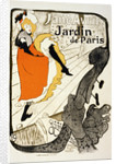 Jane Avril at the Jardin de Paris by Henri de Toulouse-Lautrec