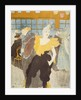 La Clownesse in the Moulin Rouge by Henri de Toulouse-Lautrec