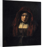 Portrait of an Old Woman by Rembrandt (Rembrandt van Rijn)