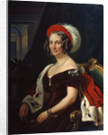 Portrait of Queen Frederica of Hanover,, 19th century. by Franz Kruger