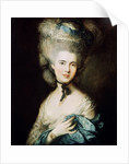 A Lady in Blue (Duchess of Beaufort) by Thomas Gainsborough