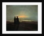 Sunset (Brothers) by Caspar David Friedrich