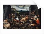 April, 17th century by Leandro Bassano
