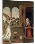 The Annunciation, 1495. by Giovanni Battista Cima da Conegliano