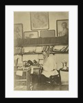 Russian author Leo Tolstoy at work, 1890s by Sophia Tolstaya