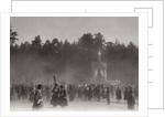 Easter procession, Sarov Monastery, Russia, 1903 by K von Hahn