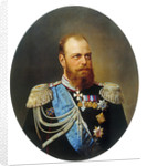 Portrait of the Emperor Alexander III,, 19th century by Anonymous