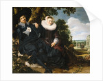 Marriage portrait of Isaac Abrahamsz Massa and Beatrix van der Laen by Frans Hals