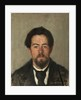 Portrait of the author Anton Chekhov by Nikolai Ivanovic Kravchenko