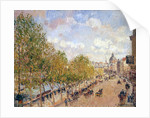 Quai Malaquais, Sunny Afternoon by Camille Pissarro