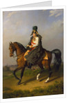 Equestrian Portrait of Holy Roman Emperor Francis II,, 1832 by Anonymous