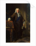 Portrait of Sir Robert Walpole, 1st Earl of Orford,, 1740 by Anonymous