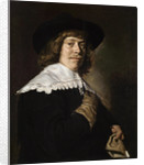 Portrait of a Young Man Holding a Glove by Frans Hals