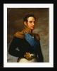 Portrait of Emperor Nicholas I, 1826 by Vasily Tropinin