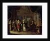 A House Concert, 18th century by Jan Josef Horemans the elder