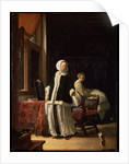 Morning of a Young Lady, c1660 by Frans van Mieris