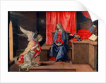 The Annunciation, early 1490s by Filippino Lippi