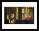 The Coronation of the Empress Maria Feodorovna on 5th April 1797, 19th century by Horace Vernet