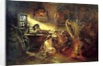 Christmas Eve Fortune Telling, 19th century. by Konstantin Makovsky