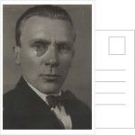 Portrait of the author Mikhail Bulgakov, Early 1920s by Anonymous