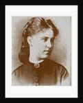 Portrait of Zinaida (Fekla) Nekrasova, wife of the poet Nikolai Nekrasov by Anonymous