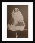 Ballerina Catherine Gavrilovna Chislova, ca 1865 by Anonymous