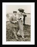 Ida Rubinstein and Gabriele D?Annunzio, c. 1911 by Anonymous