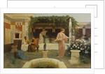 Ancient Courtyard, 1896 by Stepan Vladislavovich Bakalowicz