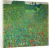 Poppy Field by Gustav Klimt