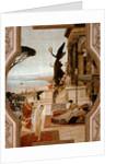 The Theatre in Taormina, 1884-1888 by Gustav Klimt