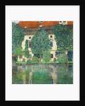 Schloss Kammer on Lake Attersee III by Gustav Klimt