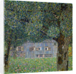 Farm House in Buchberg by Gustav Klimt