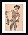 Nude Self-Portrait, Grimacing, 1910 by Egon Schiele