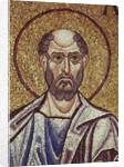 The Prophet Obadiah (Detail of Interior Mosaics in the St. Marks Basilica), 12th century by Byzantine Master
