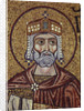 King David (Detail of Interior Mosaics in the St. Marks Basilica), 12th century by Byzantine Master