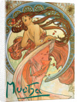 Dance (From the series The Arts) by Alfons Marie Mucha