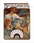 Biscuits Lefevre-Utile by Alfons Marie Mucha
