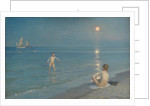 Boys Bathing at Skagen. Summer Evening, 1899 by Peder Severin Krøyer