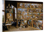 Archduke Leopold Wilhelm in his Gallery in Brussels by David Teniers the Younger