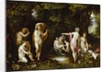 Diana and Actaeon, ca 1595 by Jan Brueghel the Elder