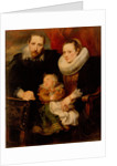 Family portrait, 1621 by Sir Anthonis van Dyck