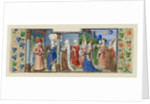 Philosophy Presenting the Seven Liberal Arts to Boethius, ca 1465 by Coëtivy Master