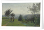 Laube printanière by Jean-Baptiste Camille Corot